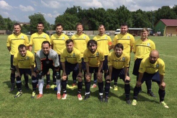 Mužstvo FK Čechy - účastník VL. Ligy ObFZ Nové Zámky.