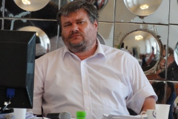 Prednosta Ľubomír Martinka.