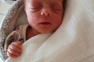Klára Zigo (2030 g, 45 cm) sa narodila 8. mája Lucii a Marekovi z Dolnej Súče.