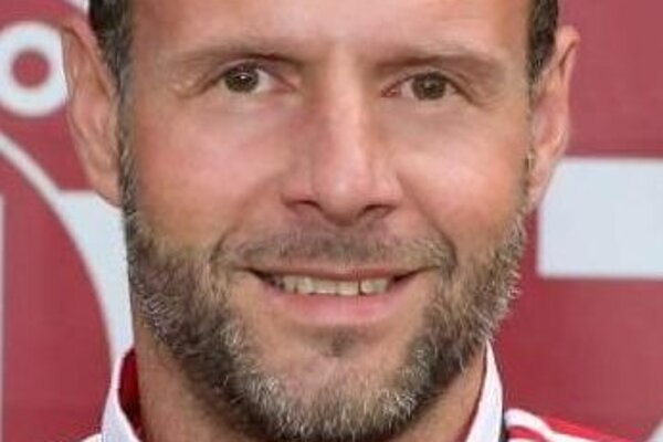 Nový kormidelník áčka MŠK Novohrad Marcel Turňa.