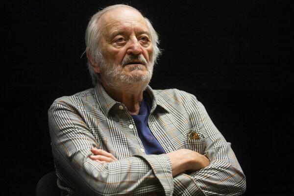 Prezident Medzinárodného filmového festivalu Art Film Fest Milan Lasica.