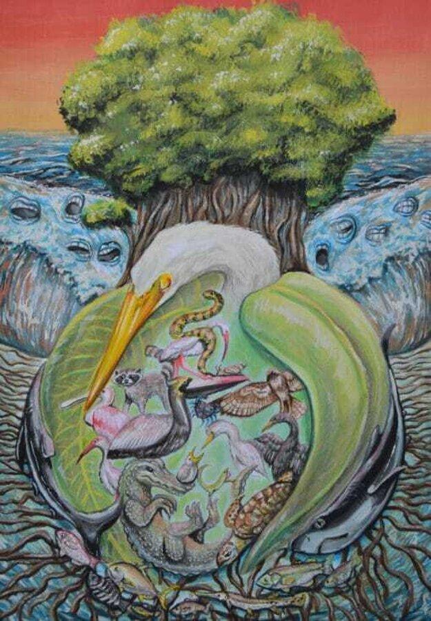 Ochranné krídla mangrovníkov