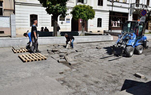 Celkové ukončenie rekonštrukčných prác je naplánované do 13. augusta.