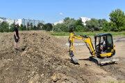 Na Sídlisku III v Prešove začali stavať nové športovisko.
