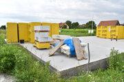 V takomto stave bola stavba rodinného domu, keď stavebný úrad zistil, že je stavebné povolenie sfalšované.