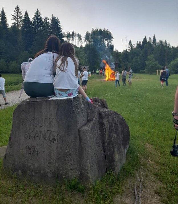 Jánska vatra vo Vychylovke