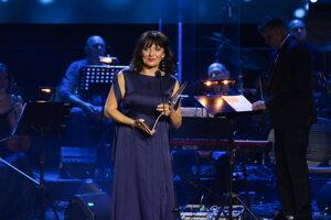 Víťazka v kategórii Hudba: skladateľka Ľubica Čekovská.