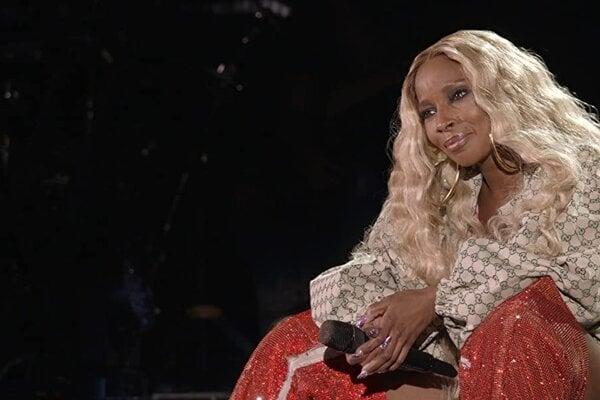Mary J. Blige vo svojom dokumente My Life