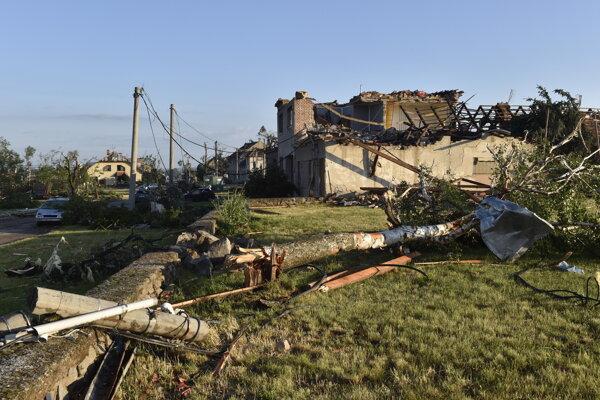 Tornádo spustošilo viaceré obce.