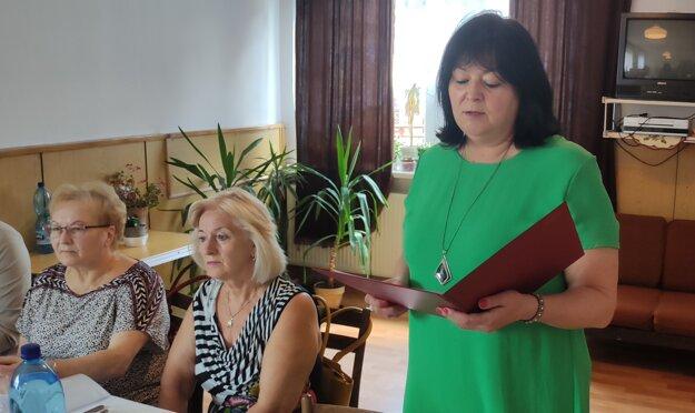 Riaditeľka UZ SČK v Čadci Elena Tomášiková