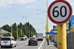 Vranovská ulica v Prešove a výjazd z mesta v smere na Vranov nad Topľou.