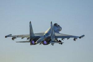 Ruská stíhačka Su-35.