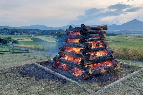 Jánska vatra horela aj v Žabokrekoch.