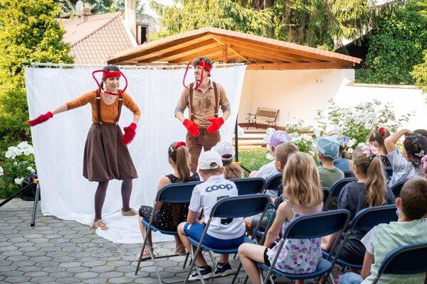 Potulné divadlo NAtraKY z Prievidze.