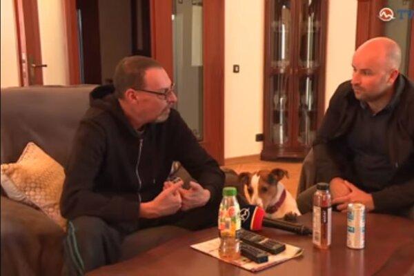 Dobroslav Trnka počas rozhovoru pre televíziu Markíza.