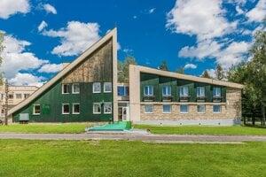 Hotel Tatranec v Tatranskej Lomnici.
