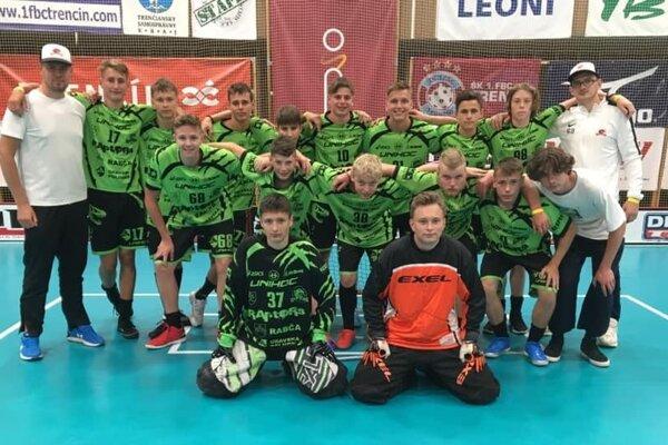 Dorastenci FBK RAptORs absolvovali prvé majstrovstvá Slovenska.