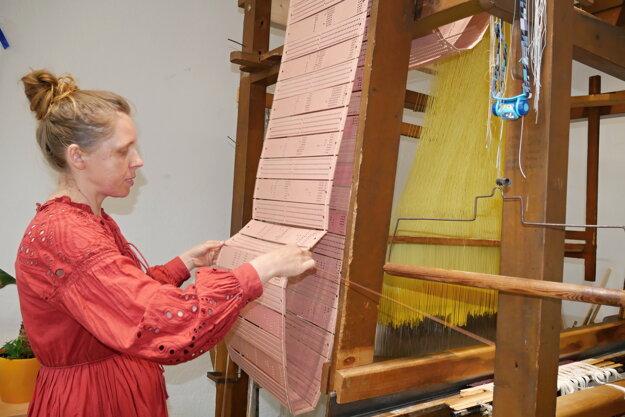 Daniela Danielis založila v Čadci Textilné remeselné centrum.