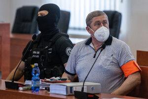 Dušan Kováčik na súde.
