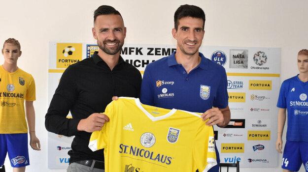 Michal Ranko (vpravo) bude v kariére pokračovať na východe Slovenska.