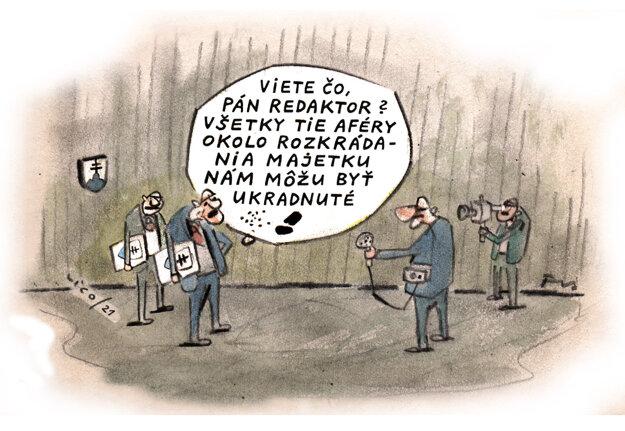 Karikatúra - 22.7.2021.