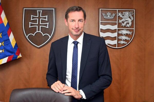 Župan Milan Majerský.
