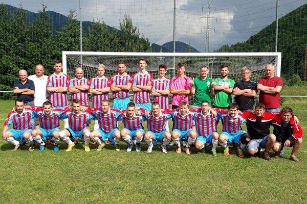 Futbalisti Švošova