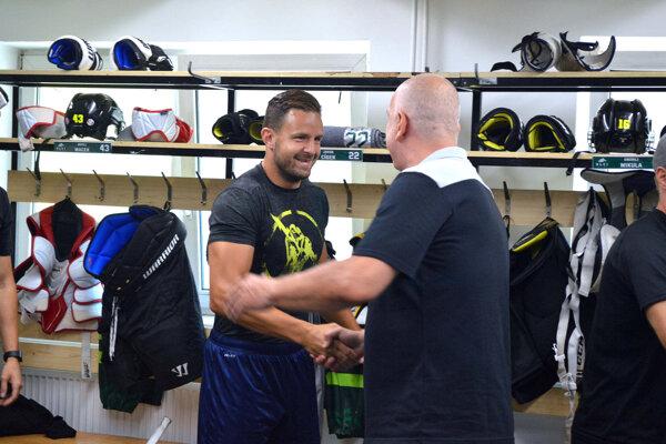 Na začiatku letnej prípravy sa spolu zvítali aj Jakub Cíger so Stanislavom Škorvánkom.