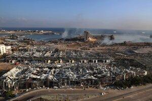 Výbuch zasiahol centrum mesta.
