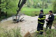 Viaceré kysucké obce potrápili povodne aj vmáji tohto roka.