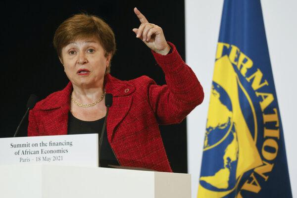 Riaditeľka fondu Kristalina Georgieva.