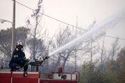 """Škody spôsobené požiarmi sú """"nevyčísliteľné""""."""