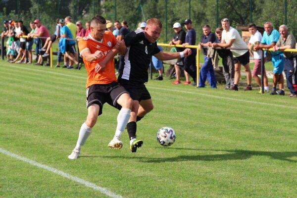 V Slovenskom pohári pútal najmä zápas Chlebníc a Oravského Veselého.