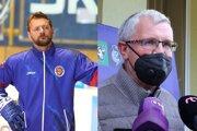 Andrej Podkonický a Dušan Mráz
