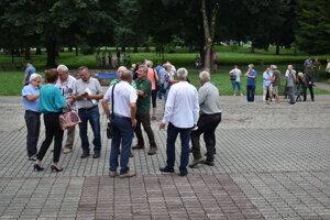 Stretnutie v Stakčíne. Prišli naň aj zástupcovia samospráv.