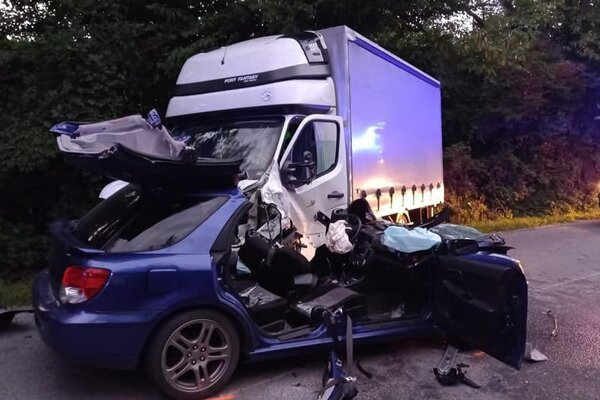 Tragická dopravná nehoda.