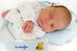 Ondrej Ištván z Prievidze sa narodil 18. 7. 2021 v Bojniciach
