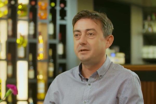 Andrej Gogola z reštaurácie Štefánka by Pulitzer