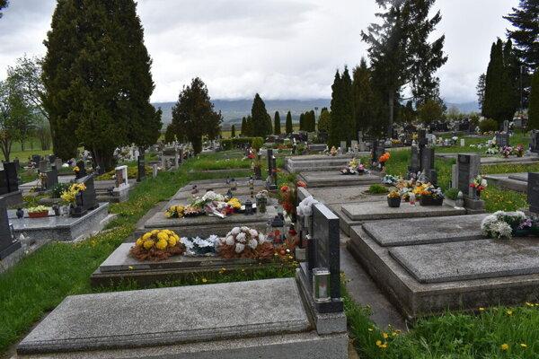 Popradský cintorín.