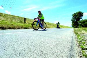 Dovolenka v Trenčíne na bicykli