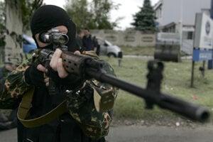 Ruskí žoldnieri bojovali aj na východe Ukrajiny.