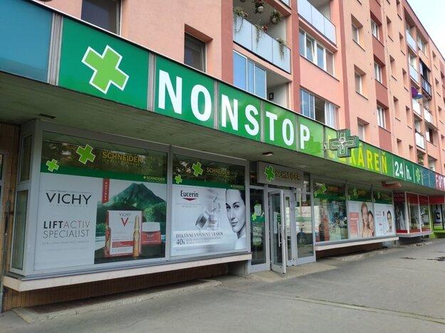 Nonstop lekáreň v Prešove je na Sabinovskej ulici.