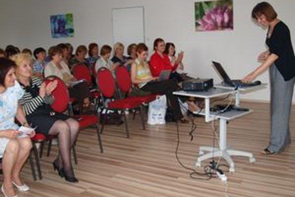 Na seminári v Nitre sa zúčastnilo asi 70 knihovníkov.