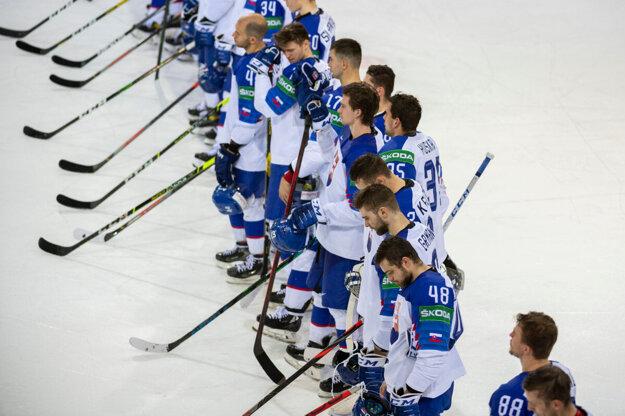 Slovenská hokejová reprezentácia.
