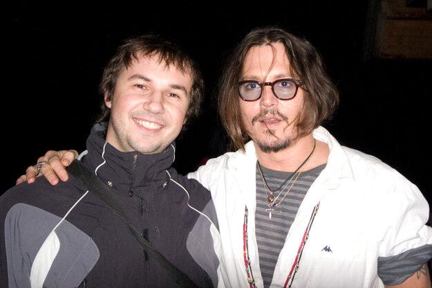 Miro Remo a Johnny Depp.