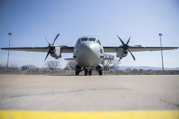 Lietadlo C-27J Spartan.