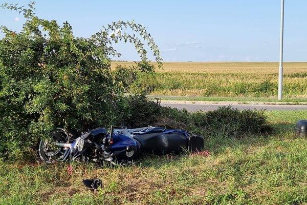 Tragická nehoda pri Voderadoch.