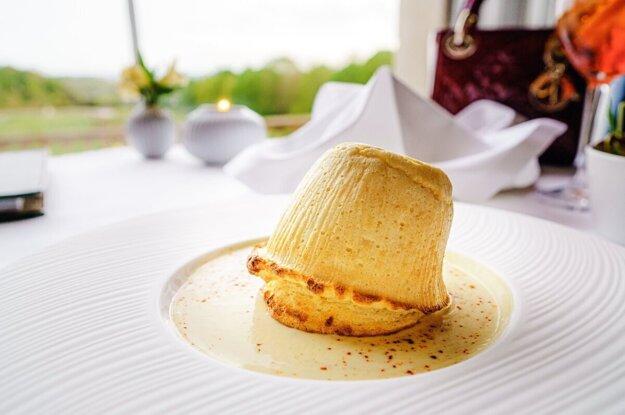 Varíme s Korzárom: Nadýchané syrové suflé. K receptu sa dostanete kliknutím na obrázok.