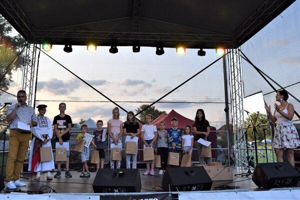 Vo Vidinej počas víkendu oceňovali aj talentovanú mládeža deti.