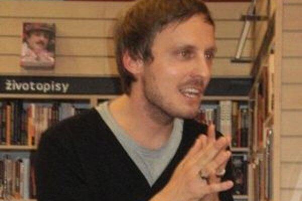 V Nitre sa so svojimi priaznivcami stretol Michal Hvorecký.